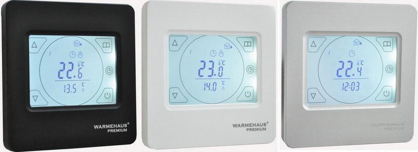 Терморегулятор Warmehaus TOUCHSCREEN